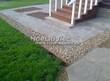 Садовая дорожка из плитняка (швы заделаны цементом) - 146