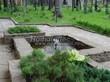 Садовая дорожка из плитняка (швы заделаны цементом) - 150