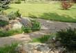 Садовая дорожка из плитняка (швы заделаны цементом) - 151