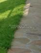 Садовая дорожка из плитняка (швы заделаны цементом) - 152