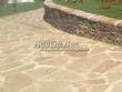 Садовая дорожка из плитняка (швы заделаны цементом) - 153
