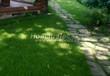Садовая дорожка из плитняка (камень-пластушка, швы с травой) - 107