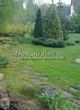 Садовая дорожка из плитняка (камень-пластушка, швы с травой) - 113