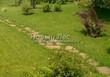 Садовая дорожка из плитняка (камень-пластушка, швы с травой) - 119