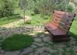 Садовая дорожка из плитняка (камень-пластушка, швы с травой) - 126