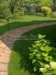 Садовая дорожка из плитняка (камень-пластушка, швы с травой) - 140