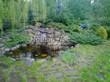 Садовая дорожка из плитняка (камень-пластушка, швы с травой) - 167