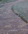Садовая дорожка из песчаника (швы отсыпаны гравием) - 106