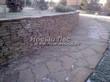 Садовая дорожка из песчаника (швы отсыпаны гравием) - 108