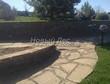 Садовая дорожка из песчаника (швы отсыпаны гравием) - 109