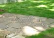Садовая дорожка из песчаника (швы отсыпаны гравием) - 112