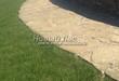 Садовая дорожка из песчаника (швы отсыпаны гравием) - 117
