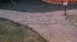 Садовая дорожка из песчаника (швы отсыпаны гравием) - 120