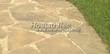 Садовая дорожка из песчаника (швы отсыпаны гравием) - 129