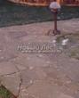 Садовая дорожка из песчаника (швы отсыпаны гравием) - 130