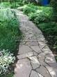 Садовая дорожка из песчаника-пластушки (швы без наполнения) - 102