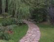 Садовая дорожка из песчаника-пластушки (швы без наполнения) - 103