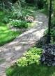 Садовая дорожка из песчаника-пластушки (швы без наполнения) - 106