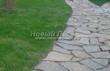 Садовая дорожка из песчаника-пластушки (швы без наполнения) - 108