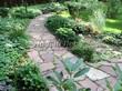 Садовая дорожка из песчаника-пластушки (швы без наполнения) - 110