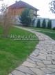 Садовая дорожка из песчаника-пластушки (швы без наполнения) - 116