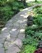Садовая дорожка из песчаника-пластушки (швы без наполнения) - 122