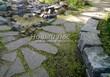 Садовая дорожка из песчаника-пластушки (швы без наполнения) - 123