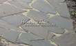 Садовая дорожка из песчаника-пластушки (швы без наполнения) - 128