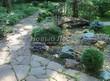 Садовая дорожка из песчаника-пластушки (швы без наполнения) - 130