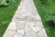 Садовая дорожка из песчаника-пластушки (швы без наполнения) - 132