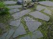 Садовая дорожка из песчаника-пластушки (швы без наполнения) - 143