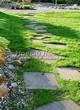 Пошаговая садовая дорожка из песчаника (плитняка) - 110