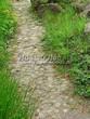 Садовая дорожка из натурального камня (валунов) - 103