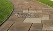 Садовая дорожка из слэбов (пиленые плиты из натурального камня) - 104