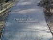Насыпная садовая дорожка из гранитного отсева - 101