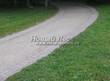 Насыпная садовая дорожка из гранитного отсева - 107