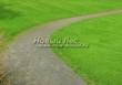Насыпная садовая дорожка из гранитного отсева - 109