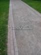 Насыпная садовая дорожка из гранитного отсева - 116
