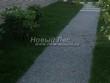 Насыпная садовая дорожка из гранитного отсева - 118