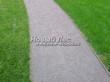 Насыпная садовая дорожка из гранитного отсева - 122