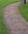 Насыпная садовая дорожка из гранитного отсева - 128