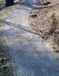 Насыпная садовая дорожка из гранитного отсева - 129