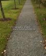 Насыпная садовая дорожка из гранитного отсева - 136