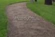 Насыпная садовая дорожка из гранитного отсева - 145