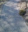 Насыпная садовая дорожка из гранитного отсева - 149