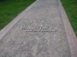 Насыпная садовая дорожка из гранитного отсева - 151