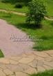 Садовая дорожка (площадка) из песка (отсев, мытый песок) - 105