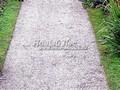 Садовая дорожка из гравия (щебня, гравийного отсева)