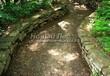 Садовая дорожка из гравия, щебня, гальки. Гравийный отсев - 104