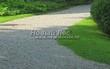 Садовая дорожка из гравия, щебня, гальки. Гравийный отсев - 105